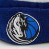 Zimska kapa New Era NBA Dallas Mavericks Bobble Knit Cuff ''Blue''