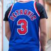 Dres M&N Dražen Petrović 3 New Jersey Nets 1992-93 Swingman