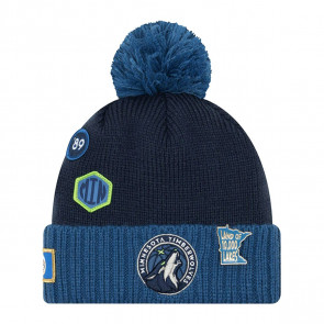 New Era NBA Minnesota Timberwolves Draft Knit Hat