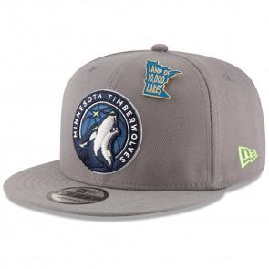 New Era Minnesota Timberwolves NBA Draft 9FIFTY Snapback Cap