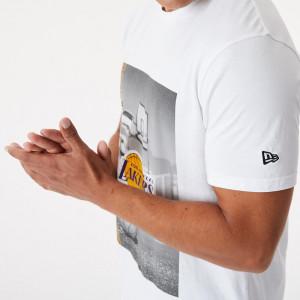 Kratka majica New Era NBA LA Lakers Photographic ''White''