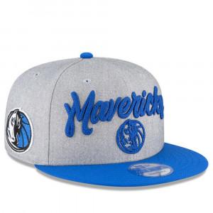 Kapa New Era NBA Draft On Court Dallas Mavericks 9FIFTY ''Grey''