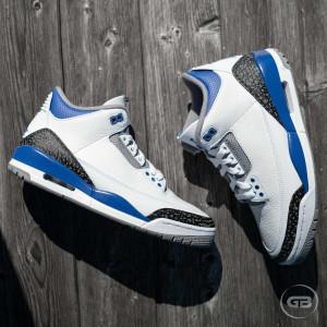 Air Jordan 3 Retro ''Racer Blue''