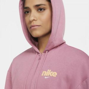 Ženski pulover Nike Sportswear Full-Zip Fleece ''Desert Berry''
