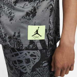 Majica Air Jordan Flight Printed Button Down ''Grey/Black''