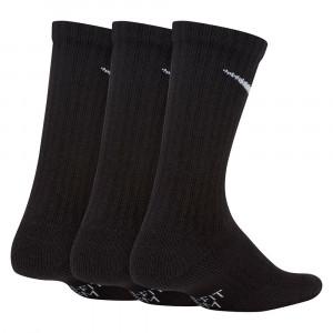 Nogavice Nike Everyday Cushioned Crew 3-Pack ''Black''