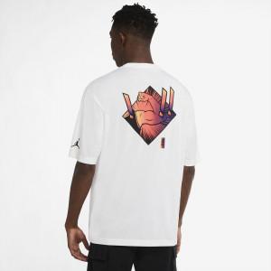 Kratka majica Air Jordan Dri-FIT Zion ''White''