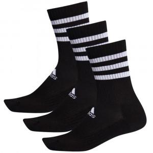Nogavice adidas 3-Stripes Cushioned Crew 3 Pairs ''Black''
