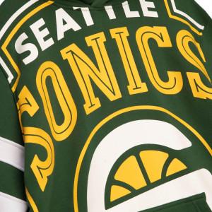 Pulover M&N NBA Seattle SuperSonics Substantial Fleece ''Green''