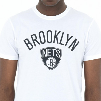 Kratka majica New Era Brooklyn Nets Logo ''White''