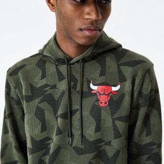 Pulover New Era Chicago Bulls Geometric Camo ''Green''