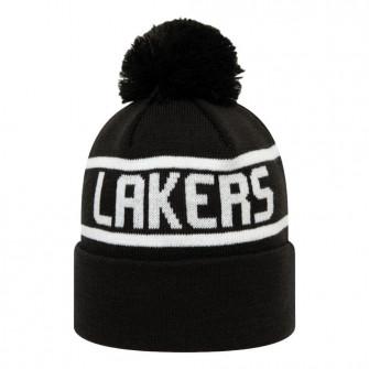 Zimska kapa New Era Los Angeles Lakers Team Bobble Cuff ''Black''