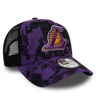 Kapa New Era NBA Los Angeles Lakers Error Print 9FORTY ''Purple/Black''