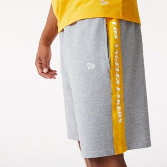 Kratke hlače New Era NBA LA Lakers Side Panel ''Grey''
