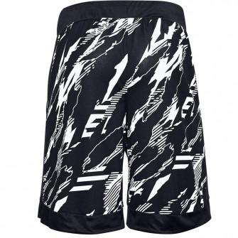 Kratke hlače Under Armour Retro Printed ''Black/White''