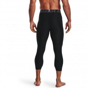 Kompresijske hlače UA HeatGear Armour 3/4 ''Black''