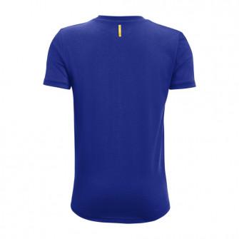Otroška kratka majica UA Curry Brand Logo ''Blue''