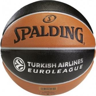 Košarkarska žoga Spalding Euroleague Repl. TF 500