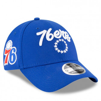 Kapa New Era NBA20 Draft Philadelphia 76ers 9Forty ''Blue''