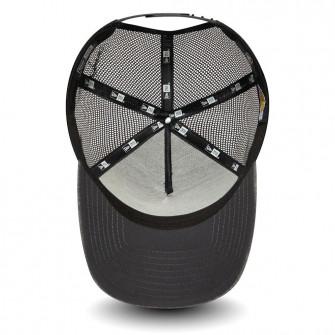 Kapa New Era NBA LA Lakers Jersey Essential A-Frame Trucker 9FORTY ''Grey/Black''