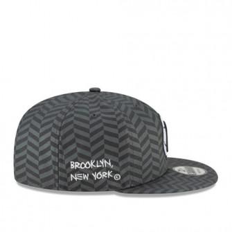 Kapa New Era NBA Brooklyn Nets City Edition 9FIFTY Snapback ''Grey''