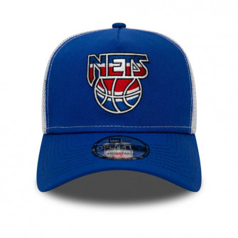 Kapa New Era NBA Hardwood Classic A-Frame Brooklyn Nets Trucker ''Blue''