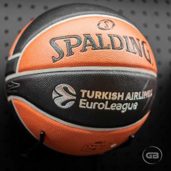 Košarkarska žoga Spalding TF-1000 ''Euroleague''