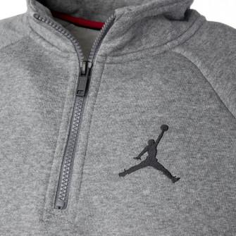 Otroški pulover Air Jordan Jumpman 1/2 Zip-Up ''Carbon Heather''