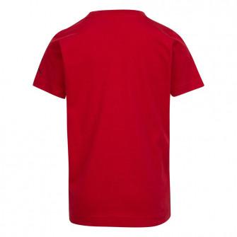 Otroška kratka majica Air Jordan Air SS Crew ''Gym Red''
