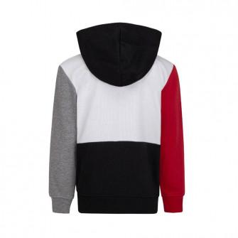 Otroški pulover Air Jordan Jumpman Full-Zip ''White/Red/Black''