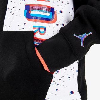 Otroški pulover Air Jordan Space Glitch Fleece ''Black''