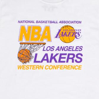 Kratka majica M&N Western Conference Los Angeles Lakers ''White''