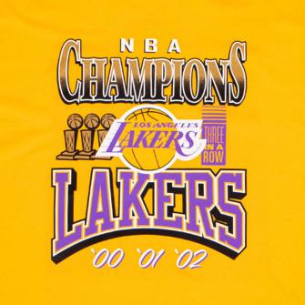Kratka majica M&N 3x Champions Los Angeles Lakers ''Yellow''