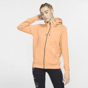 Ženski pulover Nike Sportswear Essential Full-Zip ''Orange Chalk''