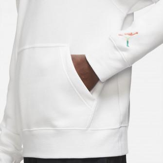 Pulover Air Jordan Sport DNA Fleece Hoodie ''White''
