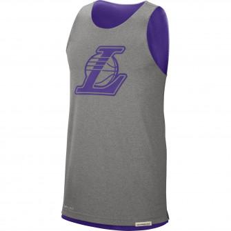 Kratka majica Nike NBA Los Angeles Lakers Reversible ''Purple/Grey''