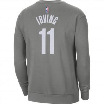 Majica Air Jordan Crew Kyrie Irving Brooklyn Nets Statement Edition ''Grey''
