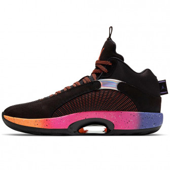 Air Jordan XXXV ''Black/Orange-Hyper Grape''