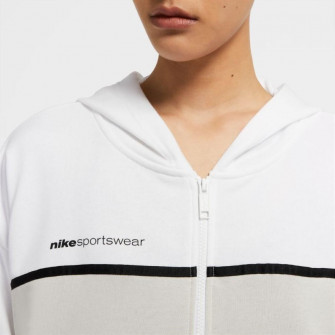 Ženski pulover Nike Sportswear Full-Zip ''White/Light Bone''