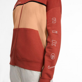 Ženski pulover Nike Sportswear Full-Zip ''Firewood Orange''