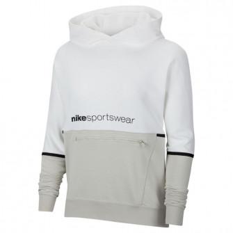 Ženski pulover Nike Sportswear Archive Remix ''White/Light Bone''