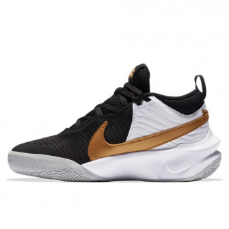 Otroška obutev Nike Team Hustle D 10 FlyEase ''Black/Metalic Gold'' (GS)