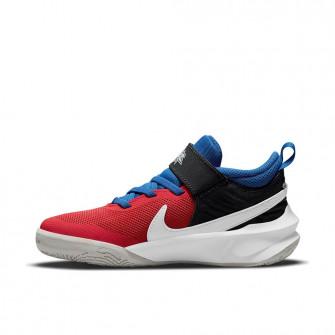 Otroška obutev Nike Team Hustle D 10 FlyEase ''Off Noir/University Red'' (PS)