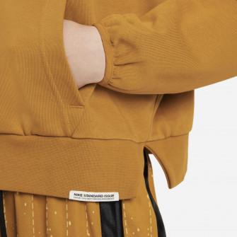 Ženski pulover Nike Dri-FIT Swoosh Fly Standard Issue ''Chuntey/Pale Ivory''