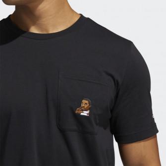 Kratka majica adidas Dame Avatar Pocket ''Black''