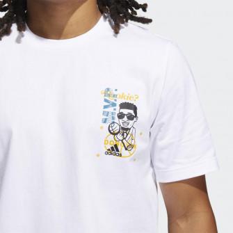 Kratka majica adidas Donovan Mitchell Avatar Rookie ''White''