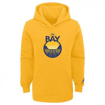Otroški pulover Nike NBA Golden State Warriors The Bay Fleece ''Yellow''