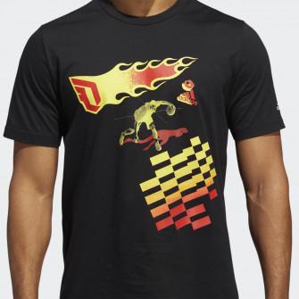 Kratka majica adidas Dame CZY ''Black''