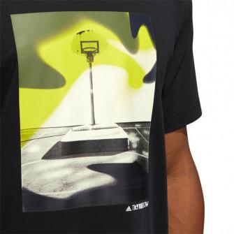 Kratka majica adidas Slept On Graphic ''Black''