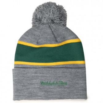 Zimska kapa M&N Boston Celtics Team Tone Knit ''Grey''